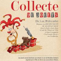 Collecte 2014 de jouets au profit des enfants défavorisés de Lille