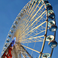Ferris Wheel in Lille in 2014 of 15 November 2014 to 11 January 2015.
